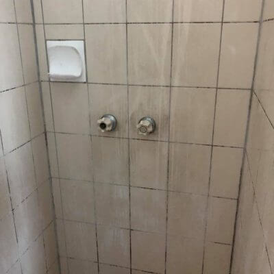 1shower cleaning before The Clean Life