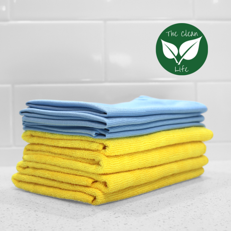 The Clean Life Cleaning Cloth Kit