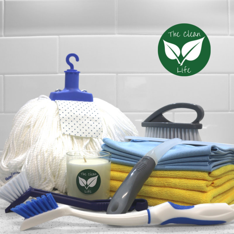 The Clean Life Cleaning Toolkit