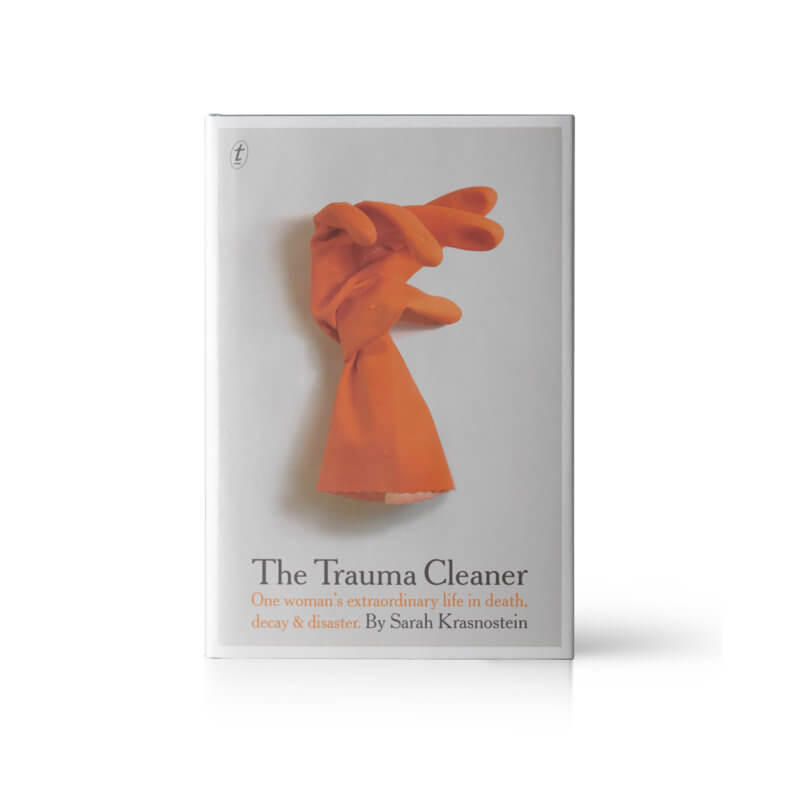 The trauma cleaner book cover